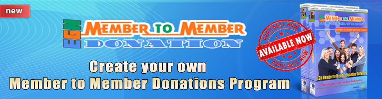 EGN Member to Member Donation software